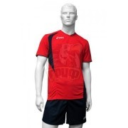 Форма волейбольная мужская Asics Set End Man (красный/синий)
