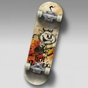 Скейтборд Спортивная Коллекция Mini-Board Hellboy Jr