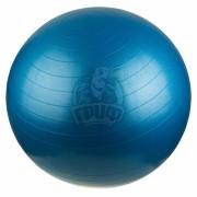 Мяч гимнастический (фитбол) 75 см с системой антивзрыв (синий)