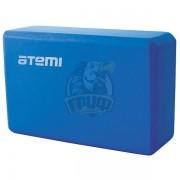 Блок для йоги Atemi (голубой)