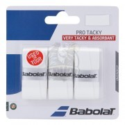 Обмотка для теннисной ракетки Babolat Pro Team Tacky (белый)