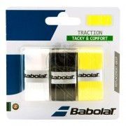 Обмотка для теннисной ракетки Babolat Pro Tour Traction (ассорти)