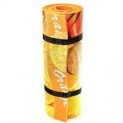 Коврик с декоративной пленкой Polifoam 7 мм (оранжевый)
