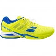 Кроссовки теннисные мужские Babolat Propulse AC (желтый/синий)