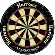 Дартс Harrows Lets Play Darts 18 дюймов (сизалевая мишень)