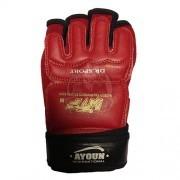Перчатки таэквондо Ayoun ПВХ (красные)