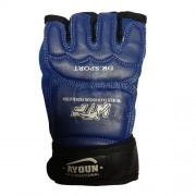 Перчатки таэквондо Ayoun ПВХ (синие)