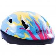 Шлем защитный Ridex Fire (желтый/голубой)