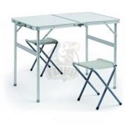 Стол для пикника (складной стол + 2 стула)