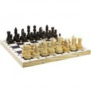 Шахматы деревянные турнирные утяжеленные