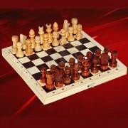 Шахматы деревянные походные