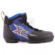 Ботинки лыжные Trek Арена NNN (черный/синий)