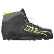 Ботинки лыжные Trek Omni SNS (черный/салатовый)