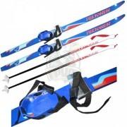 Комплект детских лыж Peltonen (лыжи+палки+крепление)