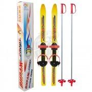Комплект детских лыж Вираж-спорт (лыжи+палки+крепление)
