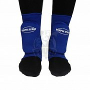 Защита голеностопа для единоборств Vimpex Sport (синий)