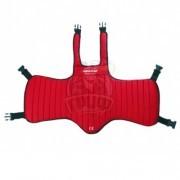 Защита корпуса для единоборств Vimpex Sport (красный)
