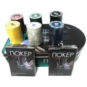 Игра покер в коробке на 120 фишек