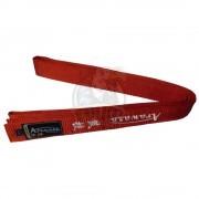Пояс каратэ с вышивкой Arawaza Red (красный)