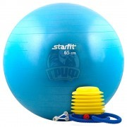 Мяч гимнастический (фитбол) Starfit 65 см с системой антивзрыв + насос