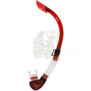 Трубка для плавания взрослая Fora (красный)