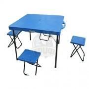 Набор туристической мебели Fora (стол и 4 стула)