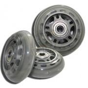 Колеса для роликовых коньков Fora 72*24 мм (без подшипников)