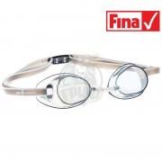 Очки для плавания стартовые Mad Wave Racer SW (серый)