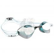 Очки для плавания стартовые Mad Wave Turbo Racer II Mirror (бирюзовый)