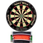 Дартс Harrows Apex Wire 18 дюймов (сизалевая мишень)
