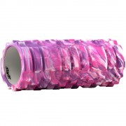 Ролик для йоги и пилатеса массажный Starfit 33х14 см (фиолетовый )