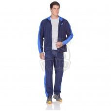 Костюм спортивный мужской Asics Suit Essential (синий)