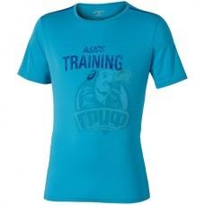 Футболка спортивная мужская Asics Graphic Tee (голубой)