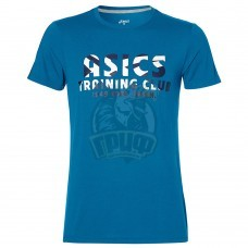Футболка спортивная мужская Asics Club Ss Top (синий)