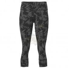 Тайтсы спортивные женские Asics Gpx Knee 3/4 Tight (серый)