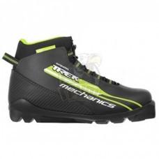 Ботинки лыжные Trek Mechanics SNS (черный/салатовый)