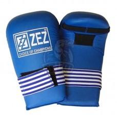 Перчатки (накладки) каратэ ZEZ Sport (красный)