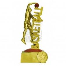 Кубок сувенирный Баскетбол HX1237-B5 (золото)