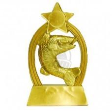 Кубок сувенирный Рыба HX2034-B5 (золото)