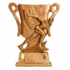 Кубок сувенирный Конькобежный спорт HX2351-B6 (серебро)