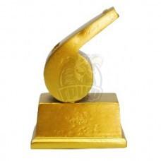 Кубок сувенирный Свисток HX3003-D5 (золото)