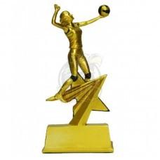 Кубок сувенирный Волейбол HX3119-B9 (бронза)