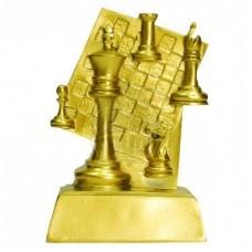Кубок сувенирный Шахматы HX1627-B5 (золото)