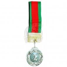 Медаль 4.0 см (серебро)