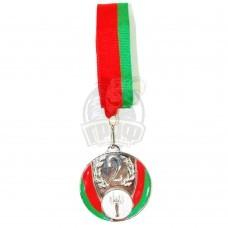 Медаль 6.5 см (серебро)