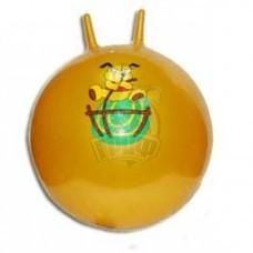 Мяч гимнастический (фитбол) с рожками 65 см