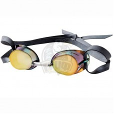 Очки для плавания стартовые Finis Dart Mirror (Gold)