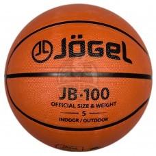 Мяч баскетбольный подростковый любительский Jögel Indoor/Outdoor №5