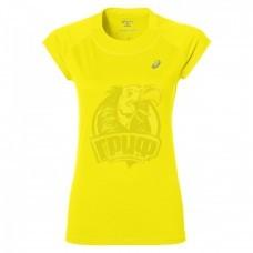 Футболка спортивная женская Asics Capsleeve Top (желтый)