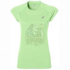 Футболка спортивная женская Asics Capsleeve Top (зеленый)